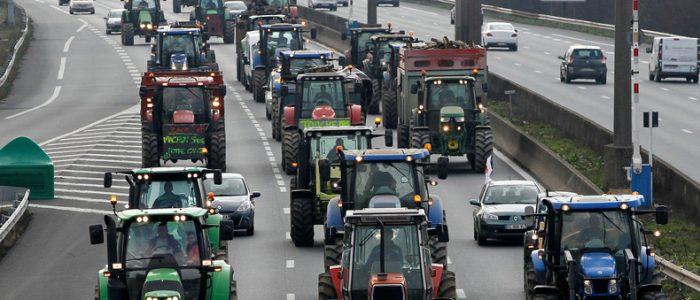 Agriculteurs dans la détrèsse